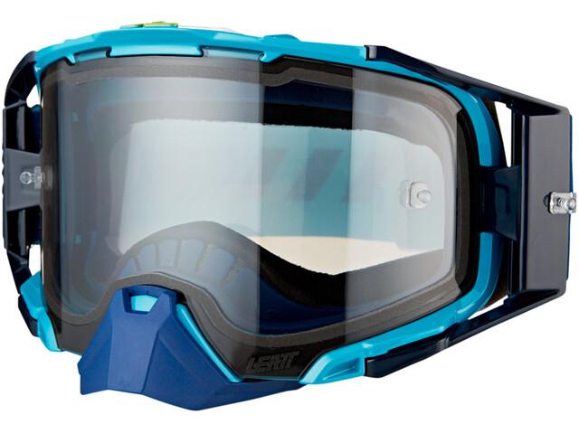 Leatt Velocity 6.5 Anti Fog Goggles, blauw/turquoise